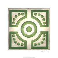Classical Garden III Framed Print