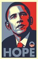 RARE Obama Campaign Poster - HOPE Fine Art Print