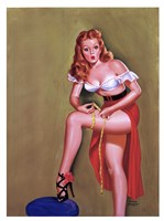The Perfect Size! 1949 Fine Art Print
