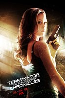 Terminator: The Sarah Connor Chronicles - style BE Framed Print