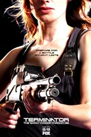 Terminator: The Sarah Connor Chronicles - style BN Wall Poster
