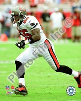 Derrick Brooks 2008 Action Fine Art Print