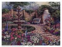 Tranquil Garden Fine Art Print