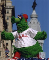 The Philly Phanatic 2008 World Series Parade Fine Art Print