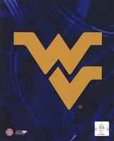 The West Virginia University Mountaineers Team Logo Fine Art Print