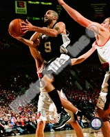 Tony Parker 2008-09 Action Fine Art Print