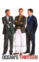 Ocean's Thirteen (Clooney, Pitt, Damon) Fine Art Print