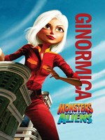 Monsters vs. Aliens, c.2009 - style D Wall Poster