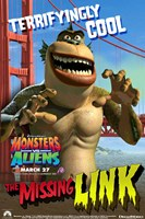 Monsters vs. Aliens, c.2009 - style E Wall Poster