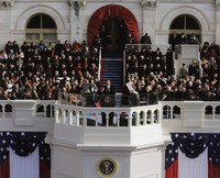 2009 Barack Obama Inaugural Address Fine Art Print