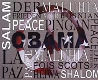Obama - Peace Fine Art Print