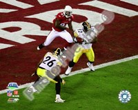 James Harrison Interception - Super Bowl XLIII - #4 Fine Art Print