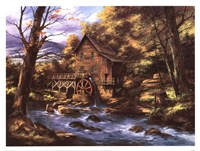 Rocky Creek Mill Framed Print