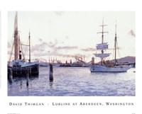 Lurline At Aberdeen, Washington Fine Art Print