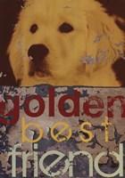 Goldie Framed Print