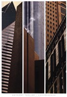 Convergence I, II, III Fine Art Print