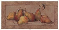 Pear Fresco Framed Print