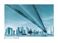 Manhattan Skyline Fine Art Print