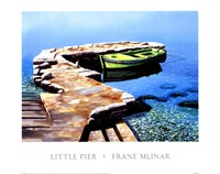 Little Pier Fine Art Print