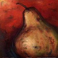 Pear Square II Fine Art Print