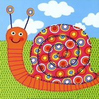 Sita The Snail Fine Art Print