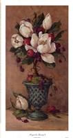 Magnolia Topiary I Framed Print