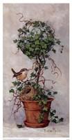 Spring Nesting II Framed Print