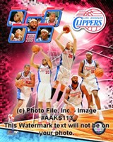 2008-09 Los Angeles Clippers Team Composite Fine Art Print
