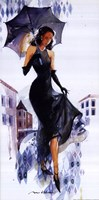 Venice In The Rain Fine Art Print
