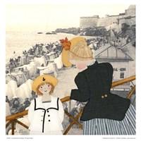 Un dimanche a St-Malo Fine Art Print