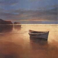 Boat on Beach Fine Art Print