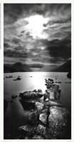 bate - Mystic Promontory Framed Print