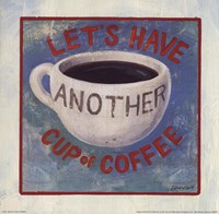 Another Cup of Coffee Fine Art Print
