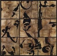Gilded Zen Nine Up Fine Art Print