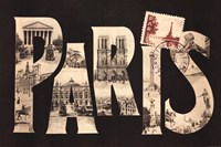 Postcard from Paris Fine Art Print