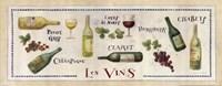 Les Vins Fine Art Print