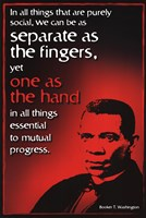 Famous Americans - Black History  4 Fine Art Print
