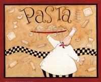 Pasta Chef Fine Art Print