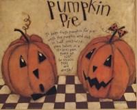 Pumpkin Pie Fine Art Print