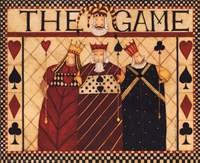 The Game Framed Print