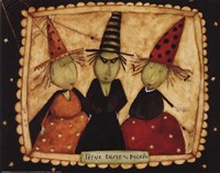 3 witches Fine Art Print