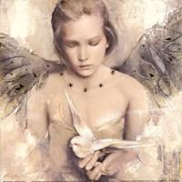 Reverie d'angel Fine Art Print