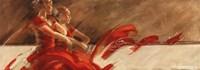 Duo in Red Fine Art Print