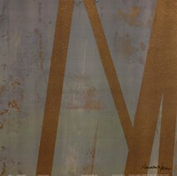 Golden Angle I Framed Print