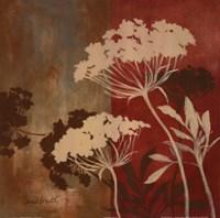 Among the Flowers II Framed Print
