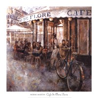 Cafe de Flore, Paris Fine Art Print