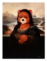 Mona Bear Fine Art Print