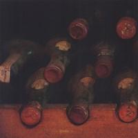 Vintage Wine Cellar I Framed Print