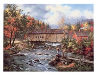 Tunbridge, Vermont Framed Print