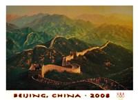 Beijing 2008 Summer Olympics Fine Art Print